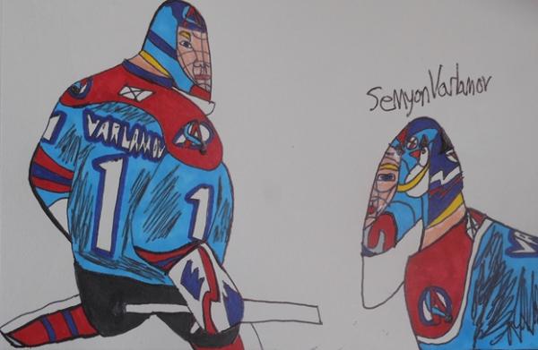Semyon Varlamov by armattock